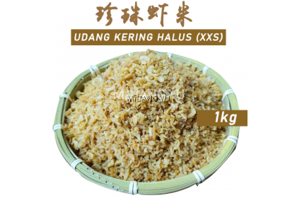 Mr.JANG YU Sekichan Udang Kering Kecil(Halus) Dried Shrimps Sambal适耕庄珍珠虾米碎